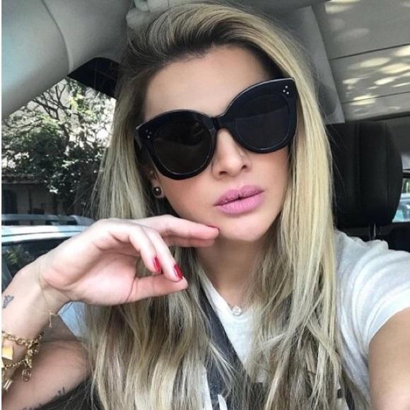 "6c19fd50b20a BNWT Celine Sunglasses w  Case (""Chris"")"
